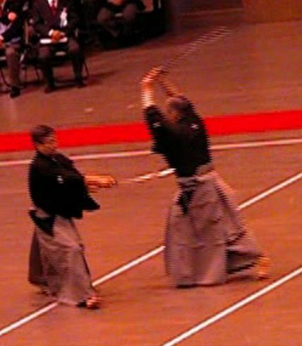 日本剣道形7本目