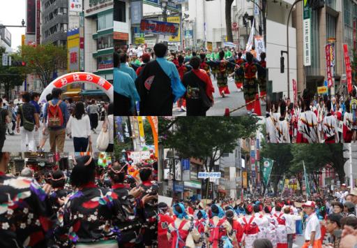 20160612渋谷・鹿児島おはら祭1