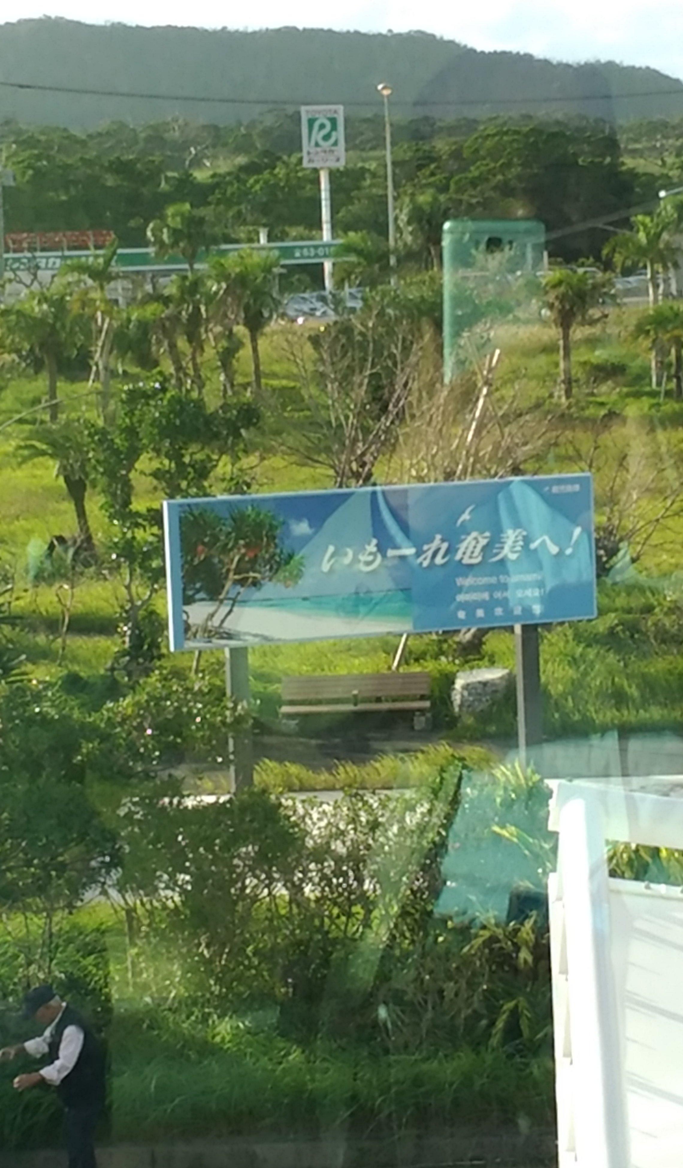 4 P_20171030_161136奄美空港歓迎いもーれ