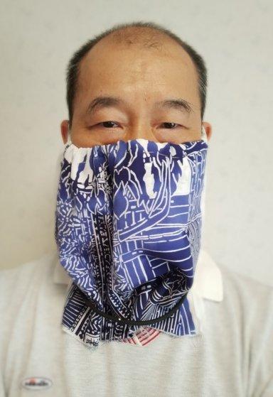 面マスク磁気ネックレス