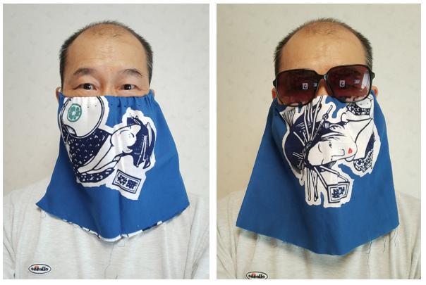 浅草手拭い面マスク